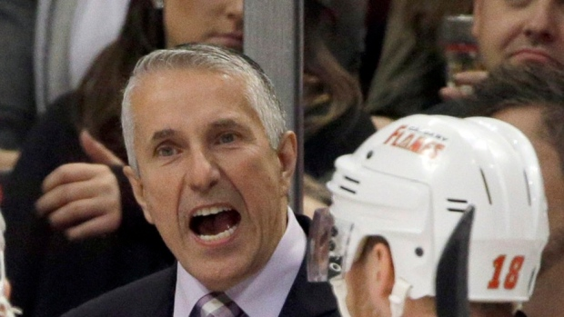 Flames Sign Head Coach Hartley To Two Year Contract