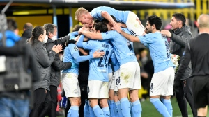 Man City beat Dortmund, advance to Champions League semifinal