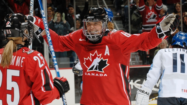 Team Canada will have two trailblazers behind the bench at women's worlds