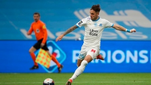 Marseille beats Lorient in stoppage time, rival Rennes wins