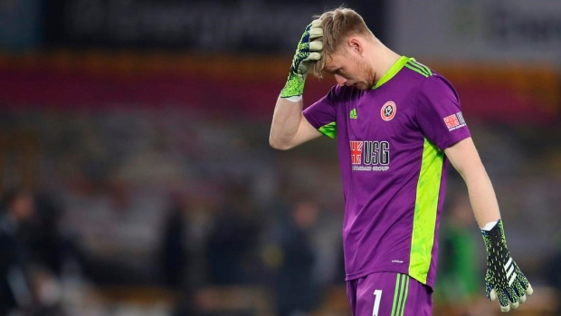 Sheffield United goalkeeper Aaron Ramsdale