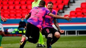 PSG scores last-gasp winner, closes gap on Lille