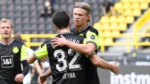 Dortmund beats Bremen, revives CL hopes