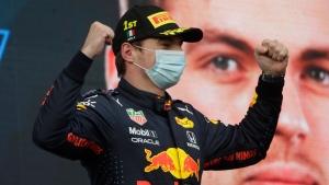 Verstappen wins dramatic Emilia-Romagna GP