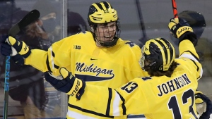 Michigan Mock: Button has Power to Sabres; Beniers to Seattle, Johnson a Canuck