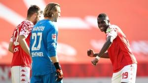 Bayern's Bundesliga celebrations on hold after Mainz loss