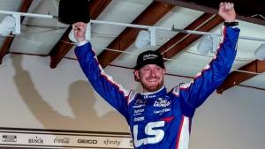 Burton wins first Xfinity Series race at Talladega