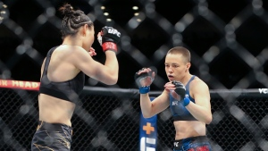 Namajunas to defend strawweight title vs. Zhang at UFC 268