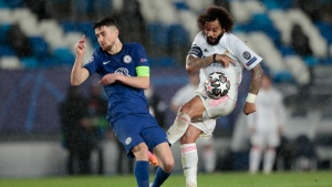 Madrid and Chelsea draw in Champions League semifinals