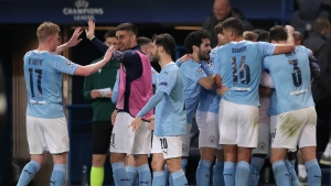 City rallies to win at PSG in first leg of CL semifinal