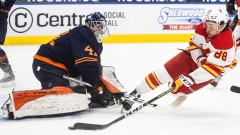 Lindholm scores twice as Calgary Flames defeat the Edmonton Oilers 3-1 Article Image 0