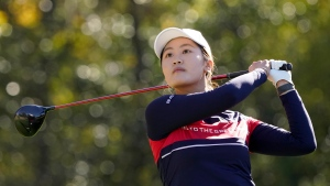 China's Xiyu has 1-stroke 54-hole lead at LPGA Singapore