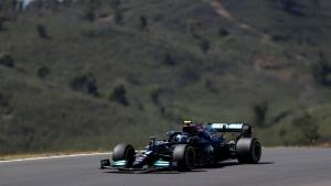 Bottas captures pole at Portuguese GP
