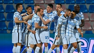 Substitutes put Inter Milan on brink of Serie A title