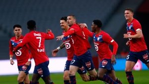 David, Lille win to stay one point up on PSG