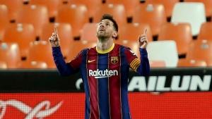 Messi to skip Barcelona's final game of Spanish season