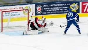 Belleville wins, pushes Marlies' skid to five