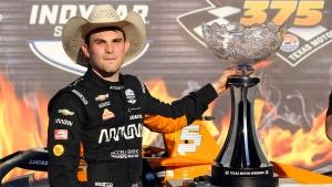 O'Ward gets first IndyCar win at Texas after big first-lap crash
