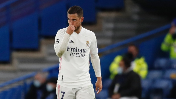 Hazard apologizes after upsetting Real Madrid fans