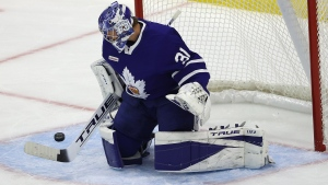 Crocker shares his takeaways from Andersen's game with the Marlies
