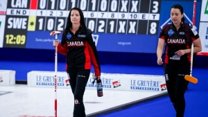 Sweden eliminates Canada from women's worlds