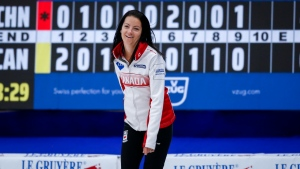 Team Einarson advances to playoffs at women's curling worlds; clinches Olympic berth for Canada