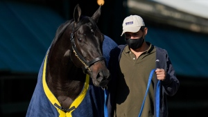 Medina Spirit to start from No. 3 post at Preakness