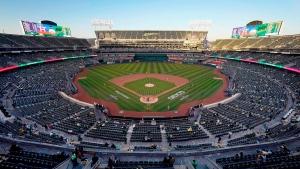 Athletics continue stadium negotiations, still considering Las Vegas option