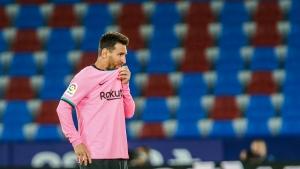 Laporta: 'Moderately optimistic' Messi stays