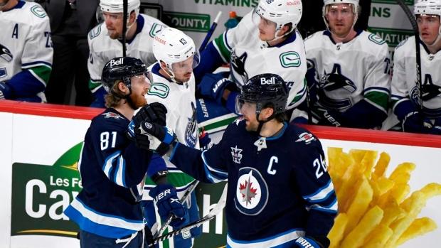 Blake Wheeler has four points as Winnipeg Jets clinch third in North Division - TSN.ca