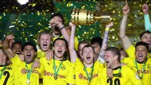 Borussia Dortmund beats Leipzig in German Cup final
