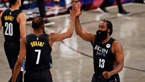 Report: Nets stars Harden, Durant to play for USA at Olympics