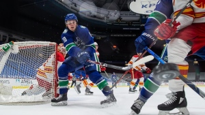 Canucks waive Virtanen for purpose of buyout