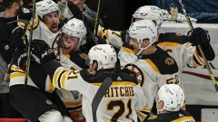 Marchand's OT winner evens Bruins-Capitals series at 1-1 Article Image 0