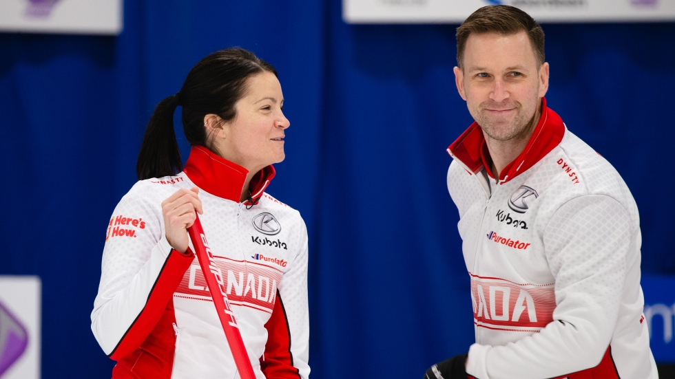 Einarson, Gushue to face Swiss in qualifier; secure Olympic spot for Canada in mixed doubles