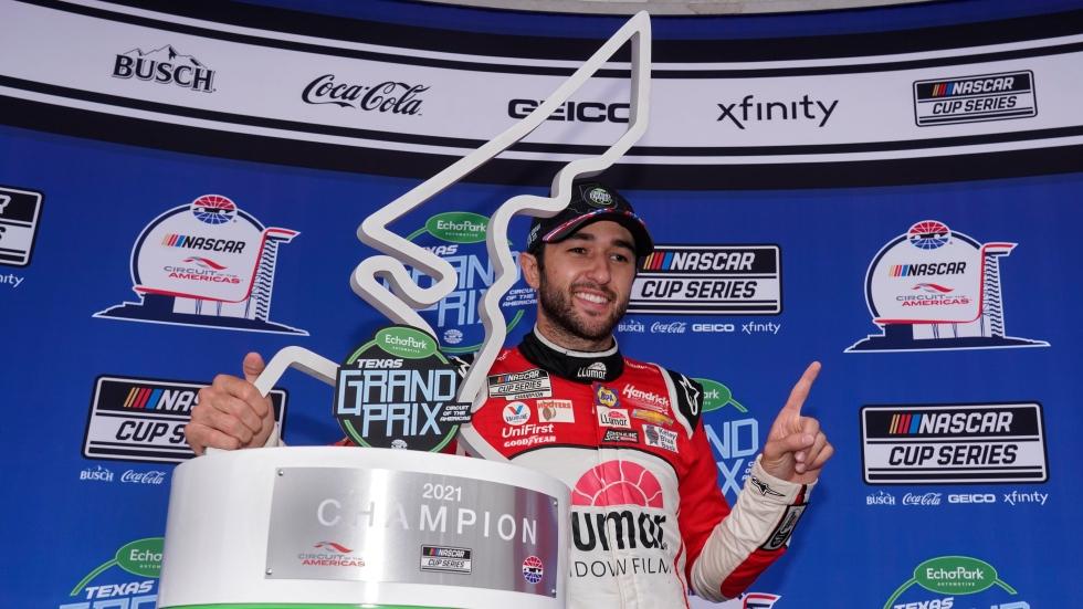 Elliott gets first win of season at Texas Grand Prix