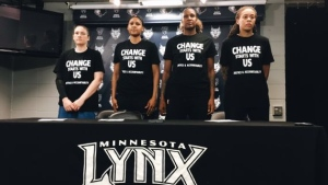 In the shadow of George Floyd Square, the Minnesota Lynx remain steadfast in the fight for racial justice