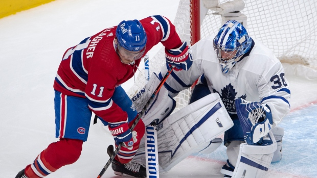 Gallagher, Habs teammates remain in contact with Weber
