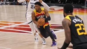 Donovan Mitchell debuts his adidas D.O.N. Issue #3 in Game 2