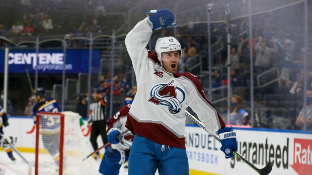 Blues sign F Saad to five-year, $22.5M deal