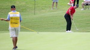Weir one back at suspended Senior PGA