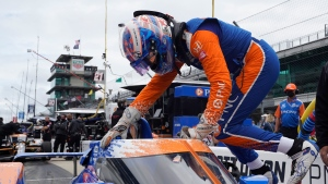 Dixon paces Carb Day as Team Penske finally shows speed