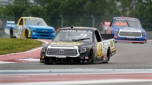 Nemechek holds off Busch in 1-2 KBM Trucks finish at Pocono