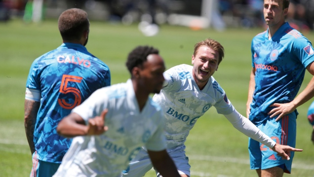Toye's late goal carries CF Montréal past Fire