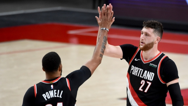 Norman-powell-and-jusuf-nurkic