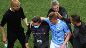 De Bruyne joins up with Belgium squad for Euro 2020 after op