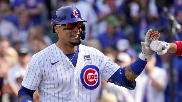 Javier Báez, Anthony Rizzo lead Chicago Cubs in three-game sweep ...