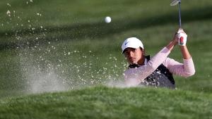 Amateur Ganne, 17, shares LPGA lead