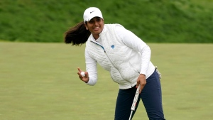 Ganne, 17, in contention at U.S. Women's Open