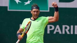 Nadal beats Schwartzman to reach 14th French Open semifinal